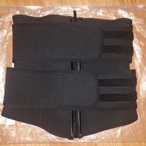 Double Belt Waist Trainer-size Medium
